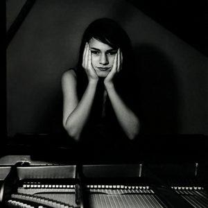 Caili Piano B&W